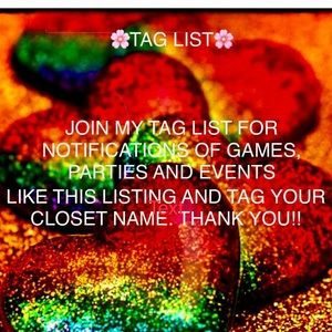 UPDATED - TAG LIST #3